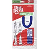 Dirt Devil Type U Microfresh Vacuum Bags (3-Pack), 3920750001