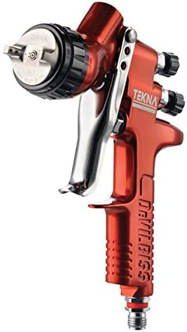 DeVilbiss Tekna Copper Gravity Feed Spray Gun Uncupped, 1.2 and 1.3 Needle