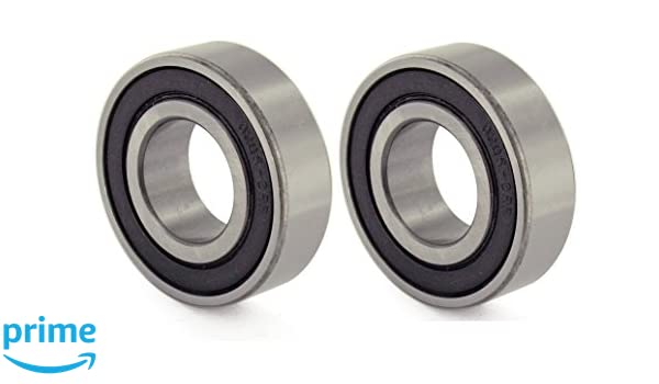 BC Precision BC-6205-2RS-4 Four 6205-2RS Sealed Bearings 25x52x15 Ball Bearings//Pre-Lubricated 4 Pack of 4