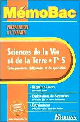 En ligne téléchargement gratuit MEMO PREPA EXAM SVT TERM S NP 2005    (Ancienne Edition) pdf