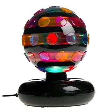 High Quality 6u0026quot; Rotating Disco Ball Light