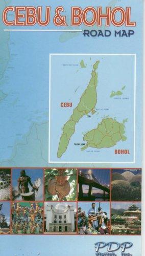 Cebu & Bohol Road Map (Philippines)
