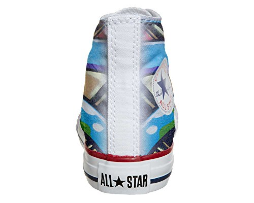 Converse All Star Hi Personnalisé et Imprimés chaussures coutume, Sneaker Unisex (produit Italien artisanal) Graffiti
