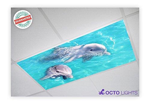 Ocean 002 2x4 Flexible Fluorescent Light Cover