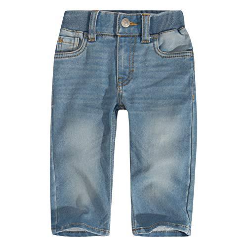 Levis Denim Boys - Levi's Baby Boys' Straight Fit Jeans, Castle Light 12M