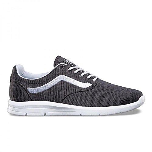 Vans Men's ISO 1.5 (Mesh) Running Shoes (11.5 D(M) US MEN/13 B(M) US Women, Black/Asphalt)