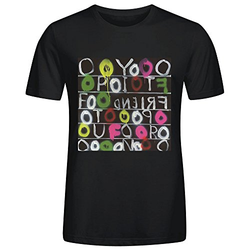 deerhoof-friend-opportunity-t-shirts-for-men-black