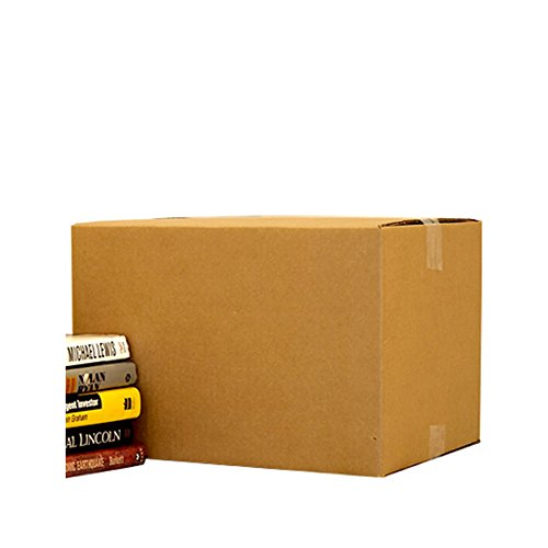 "Uboxes BOXBUNDSMA25 Small Moving Boxes, 16"" x 10"" x 10"" Packing Cardboard Box (Pack of 25)"