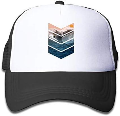 UYILP Kids Cute Triceratops Cartoon Mesh Cap Trucker Hats Adjustable Baseball Cap Children Plain Hat