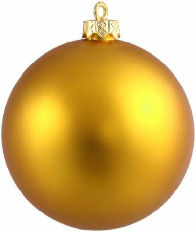Shatterproof Matte Antique Gold Christmas Ball Ornament 6 150mm Amazon Co Uk Kitchen Home