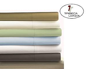 Amazon Com Tribeca Living Egyptian Cotton Sateen 800