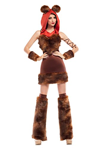 Furry Costume Party (Party King Cute Furry Space Creature Costume Large)