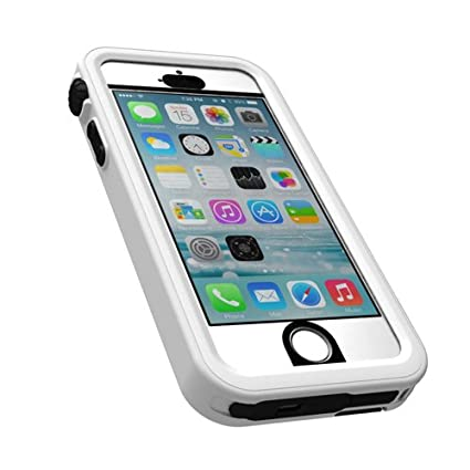 watch f20e3 b26d3 Amazon.com: Catalyst Waterproof Case for iPhone 5/5S - Alpine White ...