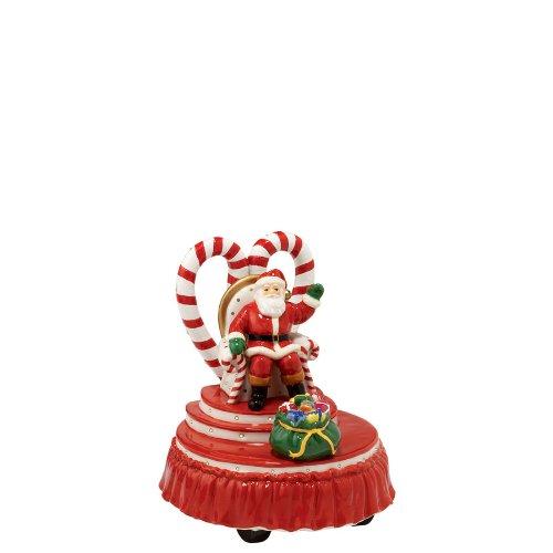 Department 56 Snow Village Brite Lites Parade Santa's Float Accessory Figurine