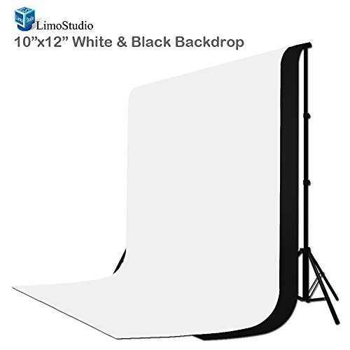 LimoStudio-10-ft-X-12-ft-Black-White-Chromakey-Photo-Video-Photography-Studio-Fabric-Backdrop-Background-Screen-AGG1894