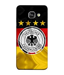 ColorKing Football Germany 16 Multicolor shell case cover for Samsung A5 2016