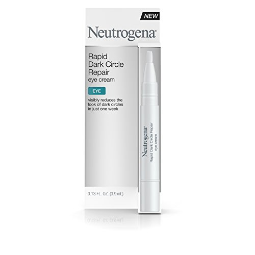 Neutrogena Rapid Dark Circle Repair Eye Cream, Nourishing & Brightening Eye Cream for Tired Eyes, .13 fl. oz ()
