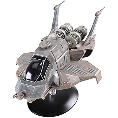 Eaglemoss Battlestar Galactica The Official Ships Collection: #10 Modern Raptor Ship Replica: Toys & Games