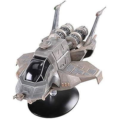 Eaglemoss Battlestar Galactica The Official Ships Collection: #10 Modern Raptor Ship Replica: Toys & Games