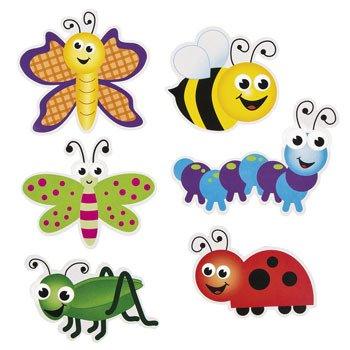 48 ~ Bug Bulletin Board Cut-outs ~ New
