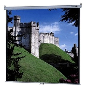 Model B Matte White Manual Projection Screen Viewing Area: 96