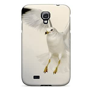 Special Saraumes Skin Case Cover For Galaxy S4, Popular Seagull Phone Case