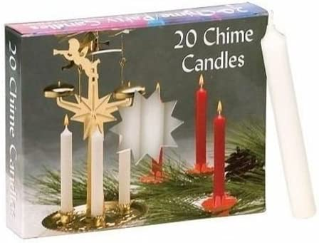 Biedermann /& Sons Chime//party Candles White 2 Boxes of 20 Each
