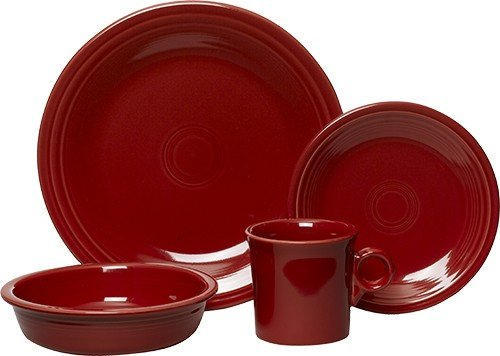 Setting, Scarlet (Four 5 Piece Place Settings)