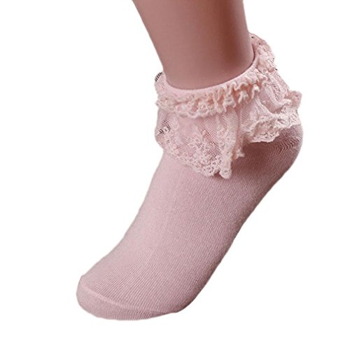 girl-cotton-socksmorecome-women-vintage-lace-ruffle-frilly-ankle-socks-pink