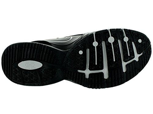 Nike Herren Reax TR III SL Crosstrainer Schwarz / Zeitungsdruck / Mtllc Silber