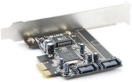 Dual Channel Serial ATA PCI Express Card w//RAID 0//1