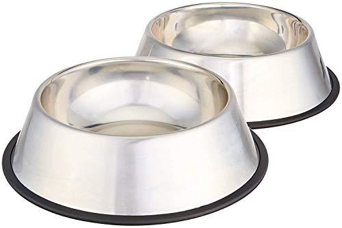 Royale Dog Stainless Steel Dog Bowl  Medium, Set of 2