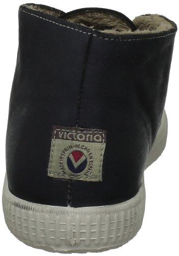 Anthracite Unisex Zapatillas Tintada antracita Pelo Piel Gris Victoria Safari Xqw770