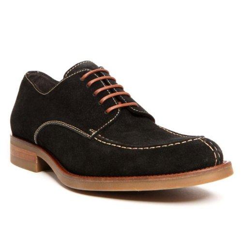 Donald J. Pliner Mens 'Etie-02' Lace-Up Shoe, Black, US 8