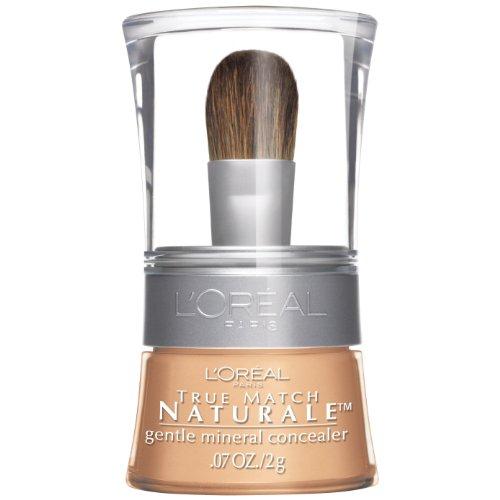 - L'Oreal Paris True Match Naturale Gentle Mineral Concealer, Light/Medium 480, 0.07 Ounce