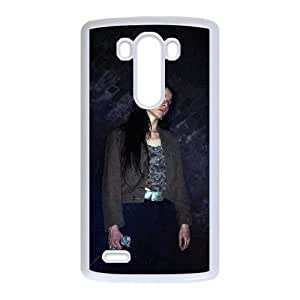 LG G3 Cell Phone Case Covers White The Moon Lay Hidden Beneath a Cloud YJW