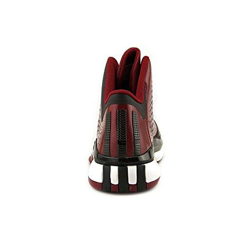 adidas D Rose 773 III hombres Basketball zapatos 11 blanco-negro Maroon-Black-White