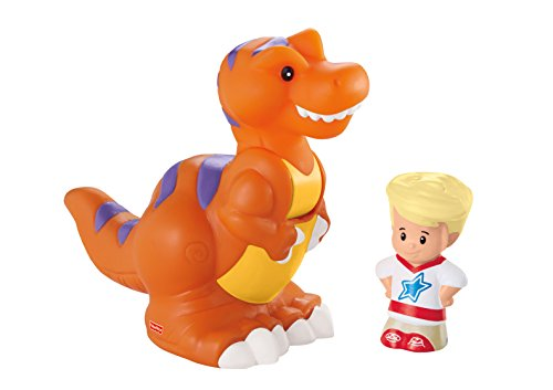 Fisher Price Dinosaurs (Fisher-Price Little People T-Rex and)