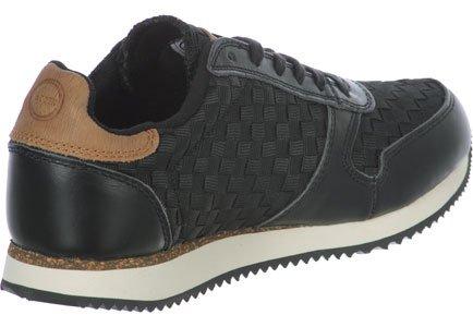 para Black 027 Zapatillas Ydun Flet Mujer Woden xqSFwF