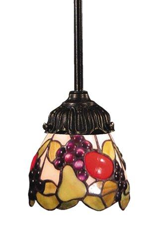 Elk 078-Tb-19 Fruit Mix-N-Match 1-Light Pendant, 23-1/2-Inch H, Tiffany Bronze - Mix N Match 1 Light