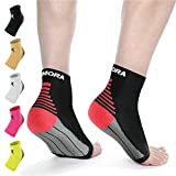 Rymora Plantar Fasciitis Foot Compression Sock Sleeves for Men and Women - Relieves Pain - Supports Heel, Arch & Ankle