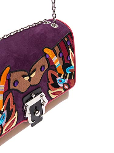 Femme Alifw17vtcajplf12 Paula Porté Épaule Multicolore Cademartori Cuir Sac TJcuFKl13