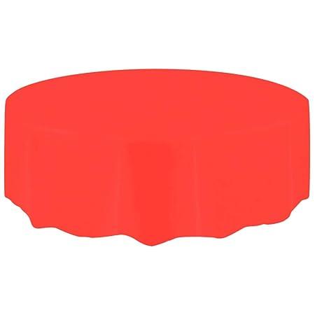 OSYARD Mantel desechable Grande de plástico para Mesa Circular de ...