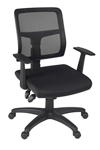Regency Aubrey Swivel Chair, Black