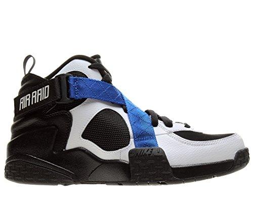 Nike Men's Air Raid Basketball Shoes-Black/White-Gm Royal-10
