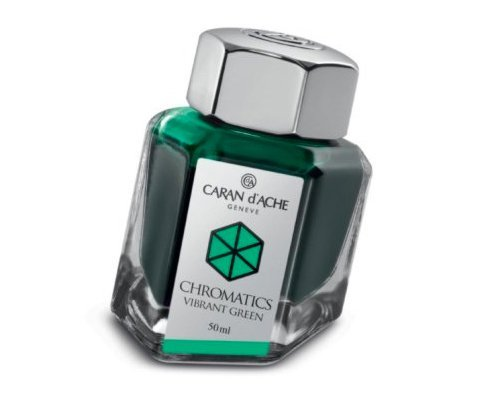 Caran D'ache Refills Chromatics Vibrant Green Bottled Ink - CA-8011210
