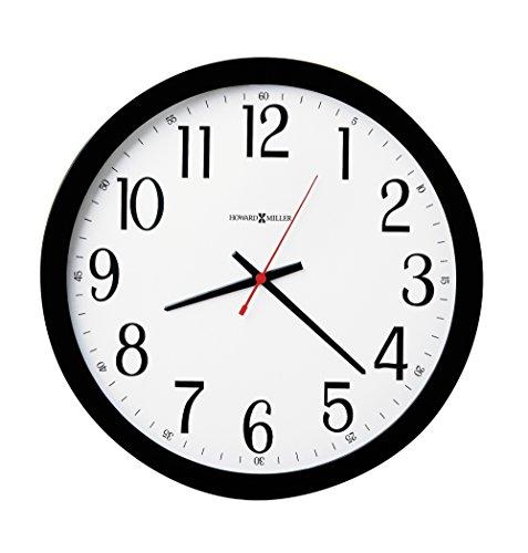 "Howard Miller Gallery Wall Clock, 16"", Black"