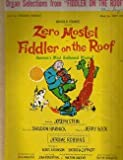 Zero Mostel Fiddler on the Roof Selections for Organ