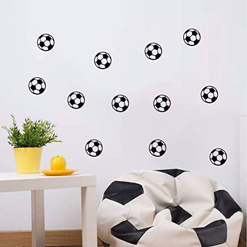 Meaosy Fútbol Etiqueta De La Pared Vinilo Nursery Decor Balón De Fútbol Kid Room Decal Niños Niños Decoración Pegatinas...