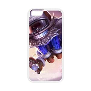 League of Legends(LOL) Snow Day Ziggs iPhone 6 4.7 Inch Cell Phone Case White 11A081657